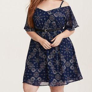 Torrid Drop Shoulder Summer Dress